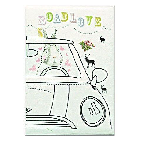 Обложка для паспорта Road love