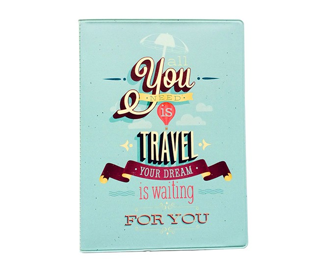Обложка на паспорт All you need is travel