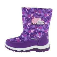 Сиреневые сноубутсы для девочек Peppa Pig