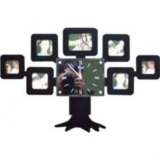 Часы фоторамка Семейное древо