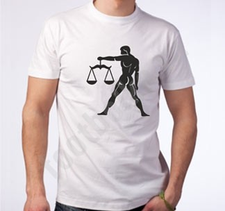 Мужская футболка Весы