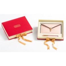 Подарочный набор: портмоне (экокожа), ручка