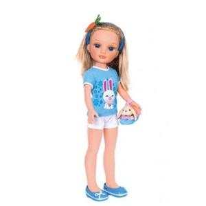 Кукла Нэнси с кроликом