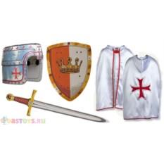 Детский карнавальный костюм рыцаря крестоносца