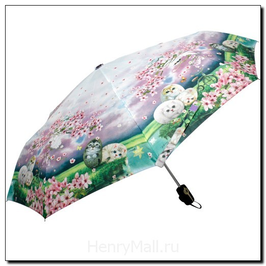 Зонт-автомат «Цветы вишни»