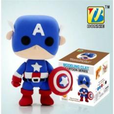 Супергеройский пластилин Капитан Америка