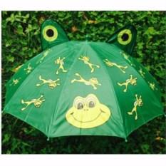 Детский зонт с ушками Лягушки