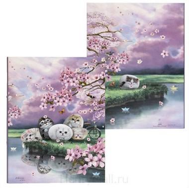 Папка-регистратор «Цветы вишни»