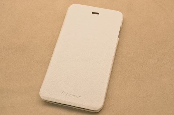 Чехол для iPhone 6 Plus «Утренний Бергамо» (белый, личи)