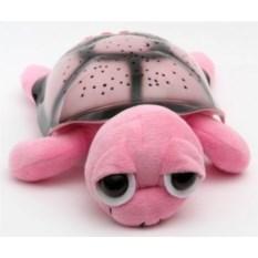 Розовый ночник-проектор Черепаха Тони с mp3 проигрывателем