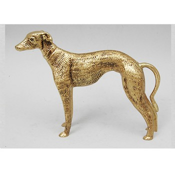 Бронзовая статуэтка Собака