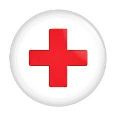 Магнит Красный крест