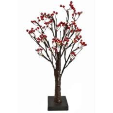 Заснеженное мини деревце Волшебные ягоды (50 см)