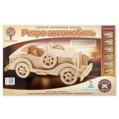 Деревянная модель автомобиля «Ретро-автомобиль Паккард»