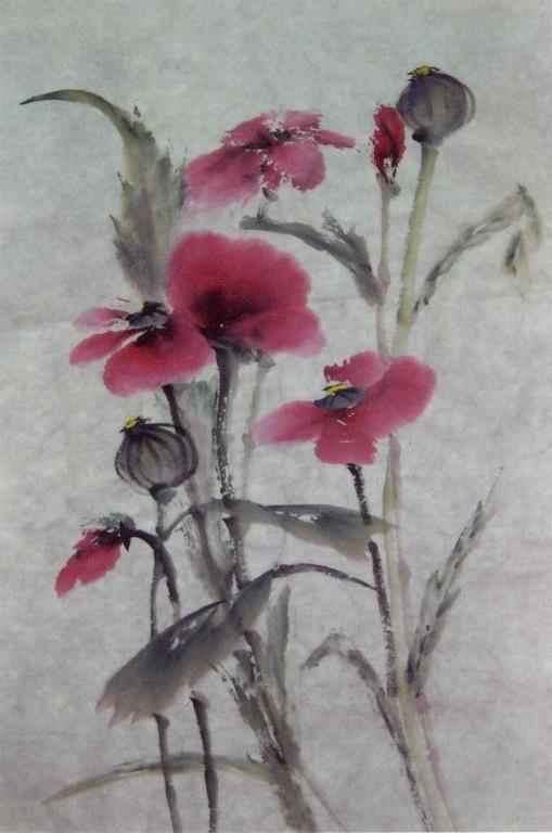 Картина Маки (Poppies)