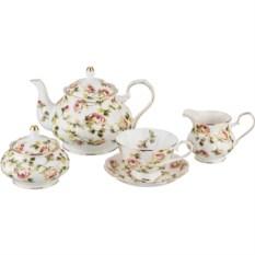 Чайный сервиз Весенний сад на 6 персон