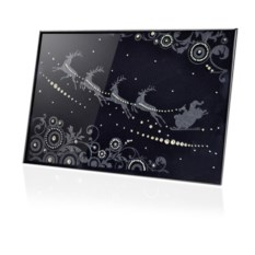 Картина Swarovski Новый год