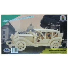 Деревянная сборная модель автомобиля «Автомобиль Самбим»
