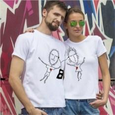 Парные футболки «Музыка любви»