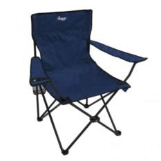 Складное синее кресло Premier