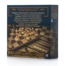 Набор настольных игр (шахматы, шашки,нарды) Spin Master