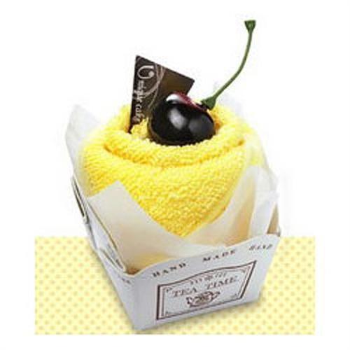Полотенце-пирожное Крем-ваниль