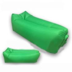 Надувной диван Lamzac Ламзак зеленого цвета