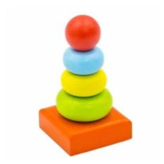 Маленькая пирамидка Колечки