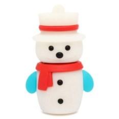Флешка Снеговик в шляпе