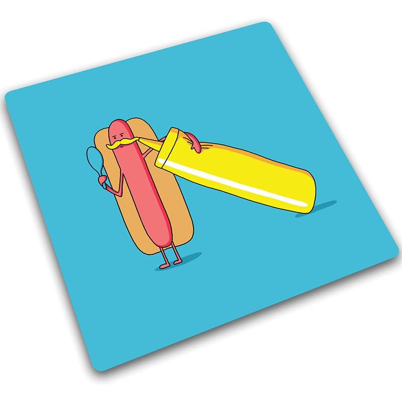 Доска для готовки и защиты рабочей поверхности Hot Dog
