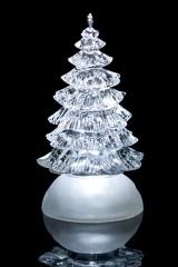Новогоднее светящееся украшение Елка, на шаре