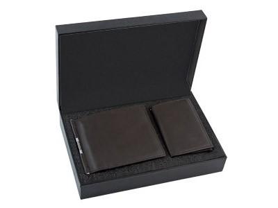 Набор из кожи: портмоне, ключница