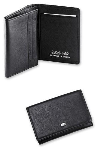 Чехол для кредитных карт S.QUIRE QK25BL, черный