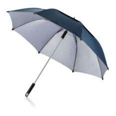 Синий зонт-трость антишторм Hurricane 27