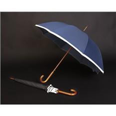 Синий зонт-трость Unit Reflect
