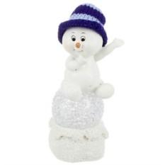 Фигурка с led-подсветкой Снеговичок