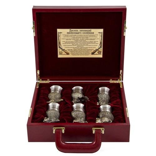 Малый подарочный набор с панно Охотничий в кейсе