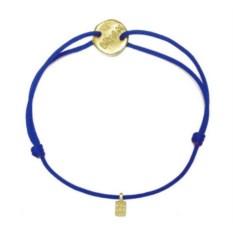 Веревочный браслет Мечта (золото, 585 проба)
