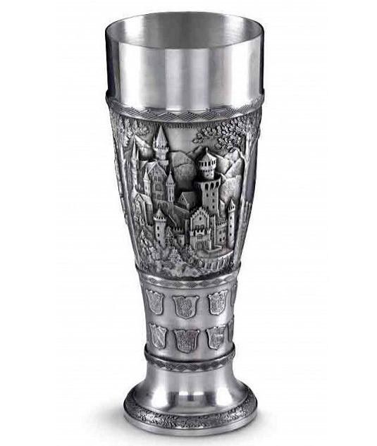 Оловянный бокал для пива