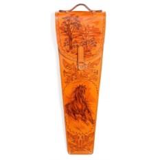 Подарочные шампура в кожаном колчане Казацкие