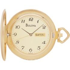 Карманные часы Bulova 97C24 с бриллиантами