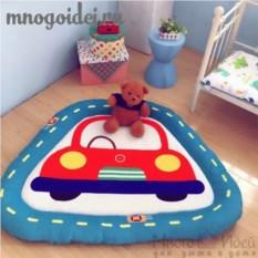 Теплый детский игровой коврик Дорожные приключения