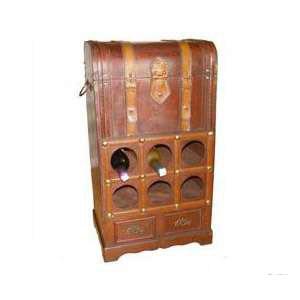 Сундук-бар деревянный