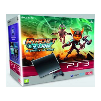 Комплект PS3 + Rachet and Clank: Crack in Time