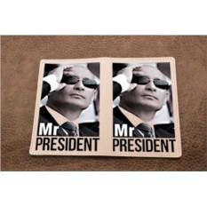 Кожаная обложка для паспорта Mr.Prezident