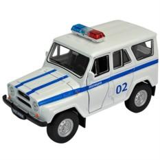 Инерционная машинка Welly 1:34-39 УАЗ 31514 Полиция
