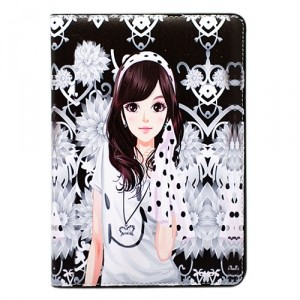 Чехол для iPad mini Flower, серия Kawaii Girl
