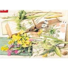 Пазл 1000 деталей Heye Цветы в журнале