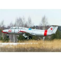 Пилотаж на реактивном самолете Л-29 (20 минут)