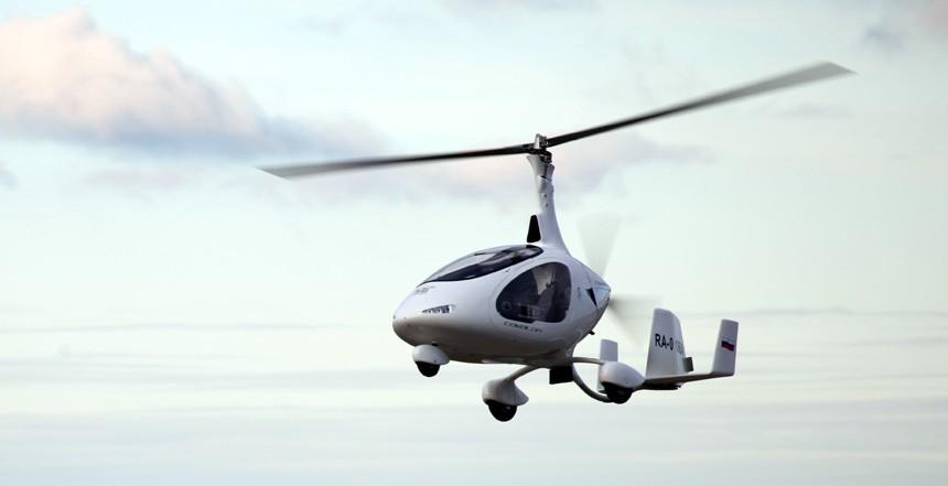 Урок пилотирования гироплана